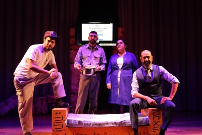 """Hazbara"" play at Palestine Technical University - Khadouri"